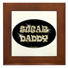 Sugar Daddy Framed Tile