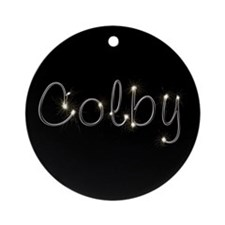 Colby Spark Ornament (Round)