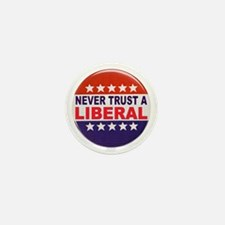 LIBERAL POLITICAL BUTTON Mini Button (10 pack)