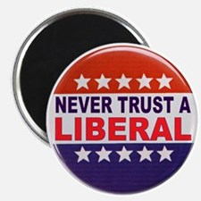 """LIBERAL POLITICAL BUTTON 2.25"""" Magnet (10 pack)"""