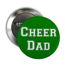 Cheer Dad Green Button