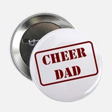 Cheer Dad Stencil Maroon Button