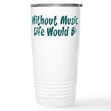 Unique Music teacher Travel Mug