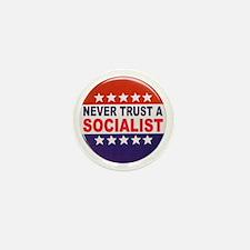 SOCIALIST POLITICAL BUTTON Mini Button