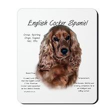 Liver English Cocker Spaniel Mousepad