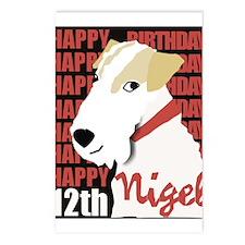 Mr. Nigel Postcards, package of 8