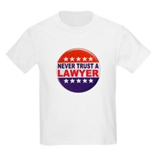 LAWYER POLITICAL BUTTON T-Shirt