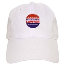 LAWYER POLITICAL BUTTON Baseball Cap