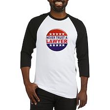 LAWYER POLITICAL BUTTON Baseball Jersey