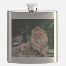Lazy Lion Flask