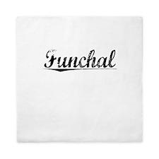 Funchal, Aged, Queen Duvet