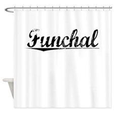 Funchal, Aged, Shower Curtain