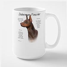 Red Doberman Pinscher Mug