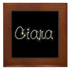Ciara Spark Framed Tile