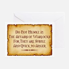 Warlocks Greeting Cards (Pk of 10)