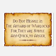 Warlocks Postcards (Package of 8)