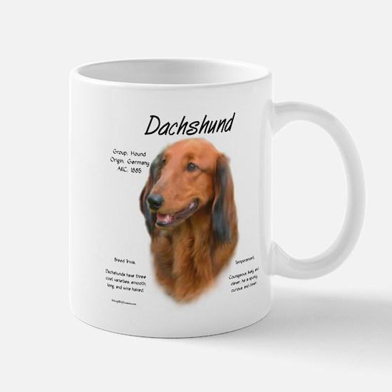Longhair Dachshund Mug