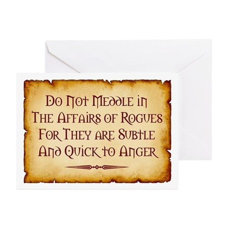 Rogues Greeting Cards (Pk of 10)