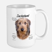 Wirehaired Dachshund Large Mug