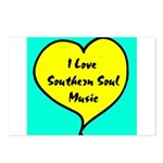 W01 Postcards (Package of 8): I Love Southern Soul