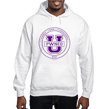 Pwned U (purple) Hoodie