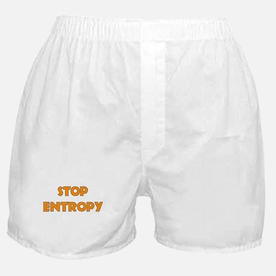 Stop Entropy! Boxer Shorts
