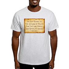 Mages Ash Grey T-Shirt