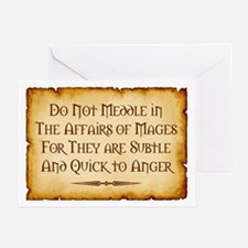 Mages Greeting Cards (Pk of 10)