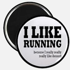 I Like Running and Dessert Magnet