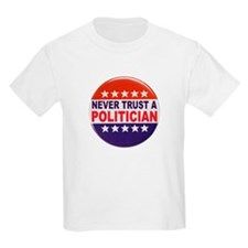 POLITICIAN BUTTON T-Shirt