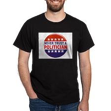 POLITICIAN BUTTON T-Shirt