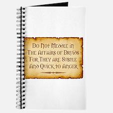 Druids Journal