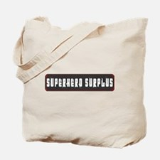 Superhero Surplus Tote Bag