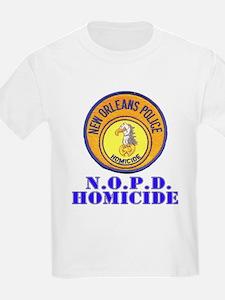 NOPD Homicide Kids T-Shirt