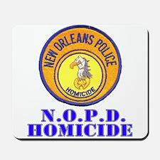 NOPD Homicide Mousepad