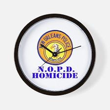 NOPD Homicide Wall Clock