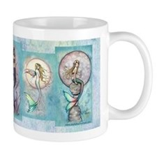 Many Mermaids by Molly Harrison Small Mug