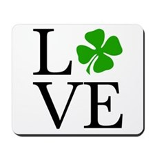 Shamrock Love Mousepad