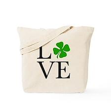 Shamrock Love Tote Bag