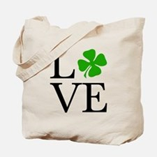 Shamrock Love Tote Bag