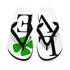 Shamrock Love Flip Flops