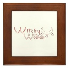 Witchy Woman Framed Tile
