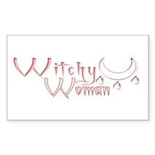 Witchy Woman Rectangle Decal