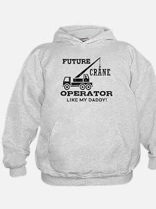 Future Crane Operator Hoodie