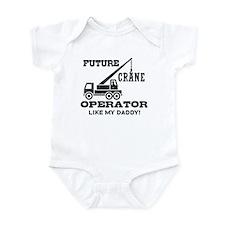 Future Crane Operator Onesie