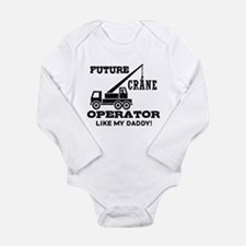 Future Crane Operator Baby Outfits