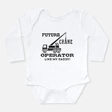 Future Crane Operator Onesie Romper Suit