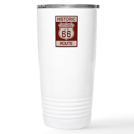 South Pasadena Route 66 Stainless Steel Travel Mug