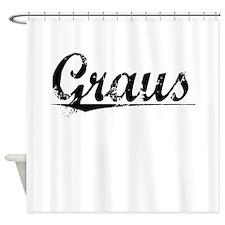 Graus, Aged, Shower Curtain