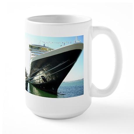 Sailing Day, San Diego Large Mug
